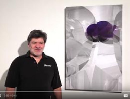 """Shattered Purple"" Becoming Popular Among Art Buyers"
